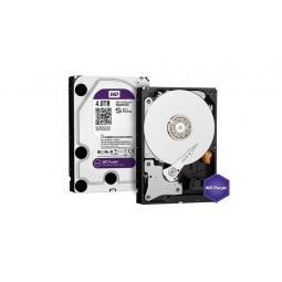 Жесткий диск WD PURPLE 4TB, 5400 об/мин, 64 Мб