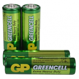 Батарейка GP GREENCELL R06, 15G, AA